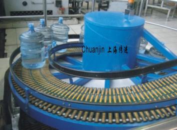 传进机械桶装水螺旋输送线
