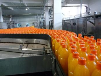 果粒橙四合一灌裝機