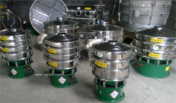 油渣专用三元旋振筛、振动过滤筛
