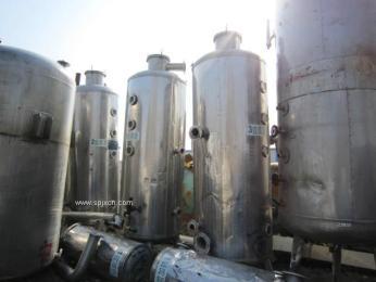 急售不锈钢双效浓缩蒸发器设备