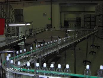 塑料瓶链板输送机