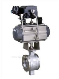 厂家供应PQV气动V型调节球阀