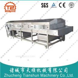 山东潍坊专业生产TSSL-100型黄桃软包装罐头/黄桃罐头杀菌机