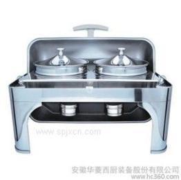 華菱全翻蓋雙頭宴會餐爐ZC202自助餐爐