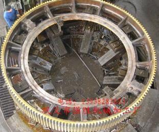 质量好的回转窑大齿轮是成功机器的基石