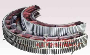 好质量的烘干机齿圈是成功机器的基石