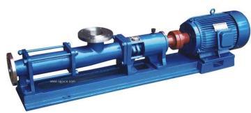 压滤机进料泵--螺杆泵