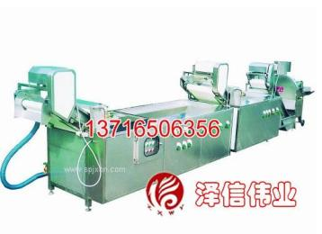 洗菜机流水线|北京洗菜流水线|连续式洗菜流水线