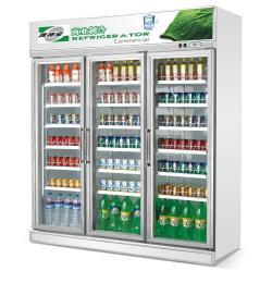 广东三门饮料展示柜;饮料展示柜冰箱供应商