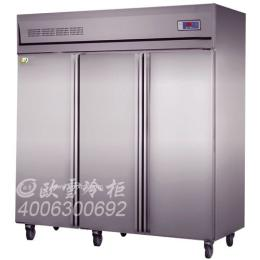 南宁市酒店厨房的三门冷柜