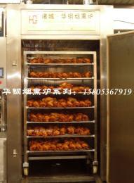 烟熏鸡机器,板鸭烘烤设备