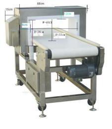 高灵敏度0.5mm 金属检测仪金属分离器