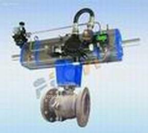 弗雷西气动分段式球阀,气动球阀,三位式气动分段式球阀,气动活塞两段式切断阀、