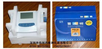 雷磁 PHS-25台式数显PH计 酸度计 酸度检测仪 酸碱度测定仪