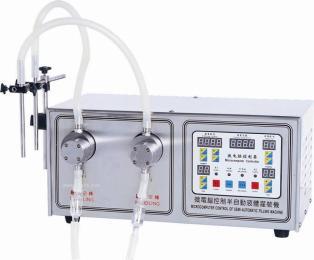 SF-2-2k口服液注射液護理液農藥醫藥半自動自吸式灌裝機