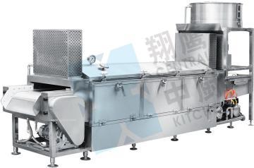 全自动无人蒸汽型米饭生产线 米饭线 蒸饭机 米饭生产设备