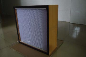 风淋室专用有隔板高效过滤器,风淋室过滤器