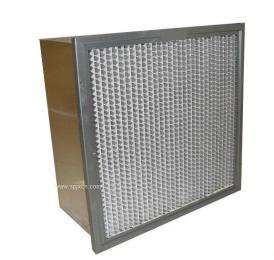 深圳有隔板耐高溫高效空氣過濾器