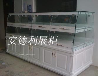 供應羅馬柱中島柜,面包貨架 ,面包展示柜