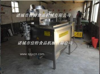 JTDH-1000电加热自动搅拌油⌒炸机、油炸设备