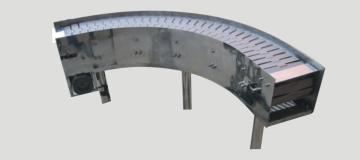 轉彎鏈板輸送機-鏈板輸送機