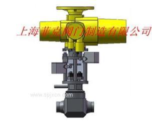 上海菲克阀门  核二级电动截止阀