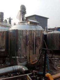 供应二手食品加工设备不锈钢灭菌锅,发酵罐