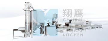 300自动米饭生产线 大米生产设备 蒸饭机 米饭线