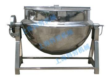 上海科劳-600L可倾式夹层锅,立式夹层锅
