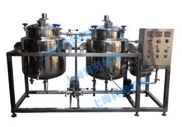 科劳机械-双罐巴氏鲜奶杀菌机