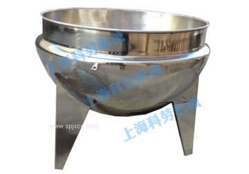 科劳机械-立式无搅拌夹层锅