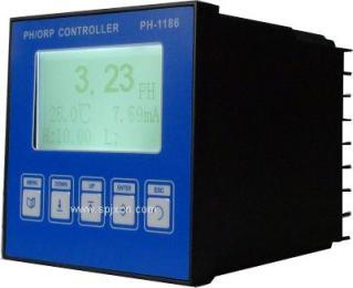 在线PH变送器 厂家批发 两组继电器开关控制 报警输出