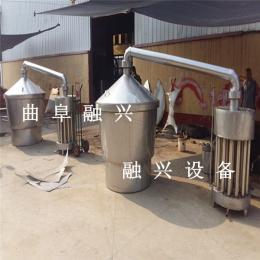 加工 不锈钢白酒酿造设备 家庭不锈钢烧酒设备总厂