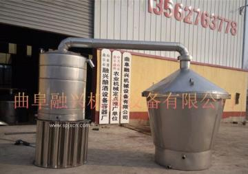 山東不銹鋼燒酒設備價格 家庭玉米釀酒設備廠家