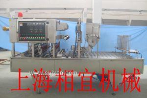 酸奶自动灌装封口机-上海相宜