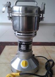 不锈钢打粉机超细研磨机中药粉碎机 实验室粉碎设备电动磨粉机