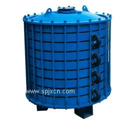 搪瓷碟片式冷凝器/搪玻璃换热器
