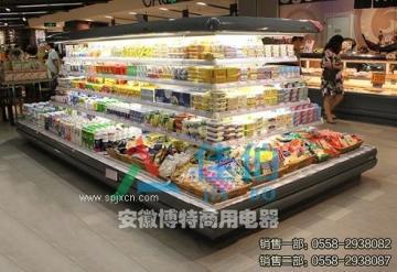 超市風冷環形島柜