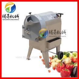 新型 全自动蔬菜切条机 萝卜地瓜红薯紫薯切片机 切丁切块机