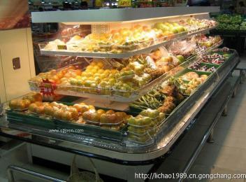 風冷環形島柜 超市環形島柜 超市組合島柜 安徽阜陽島柜 節能島柜