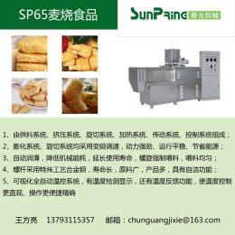 麦烧食品生产线65-150Kg/h国内1年保修
