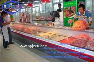 夏酷冷藏展示柜保鲜柜生鲜肉柜双汇保鲜柜冷藏肉柜