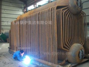 黑龍江6噸雙鍋筒蒸汽鍋爐