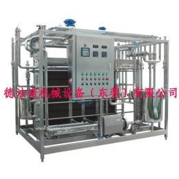 牛奶专用板式杀菌机  果汁板式杀菌设备 DFN巴氏杀菌机