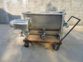 小型电、汽两用搅拌浸烫池