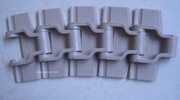 Har800M咖啡色输送链板,顶板链,柔性链