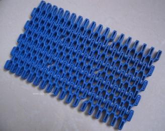 Har7100系列平格塑料输送网链,输送链板,裙边链板,挡板网链