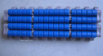 har1005系列滚珠型输送网链,塑料链板,塑钢网带