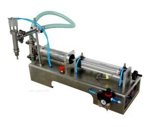 半自动活塞式液体灌装机