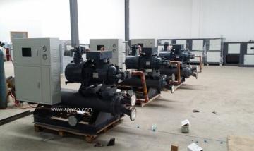 大型工业制冷机,螺杆式冷冻机组厂家直销